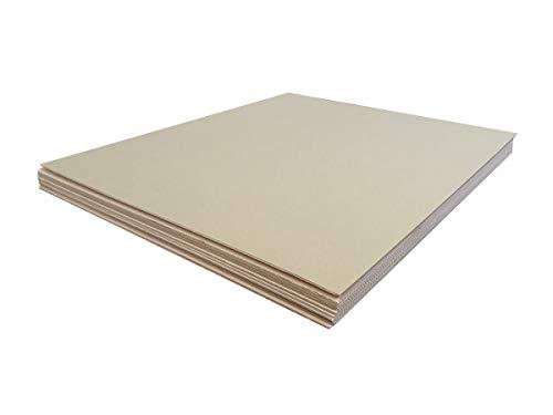 Pack de Diez (10) Planchas de Cartón. Mudanzas. Protección para Pintar u Obras. Tamaño 120 x 140...