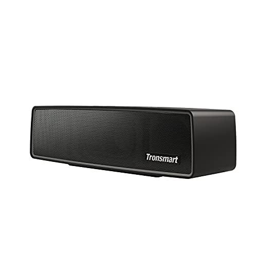Tronsmart Studio Altavoz Bluetooth 30W, Altavoces Portatil Waterproof IPX4, Aluminio Subgrave Potente, 15 Horas de Reproducción, Sonido Estéreo, Graves Mejorados, Speaker Bluetooth 5.0 y Manos Libres