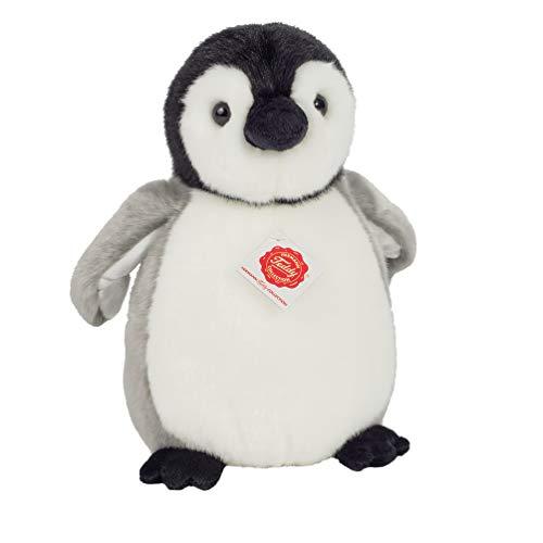 Teddy Hermann 90022 Pinguin 24 cm, Kuscheltier, Plüschtier