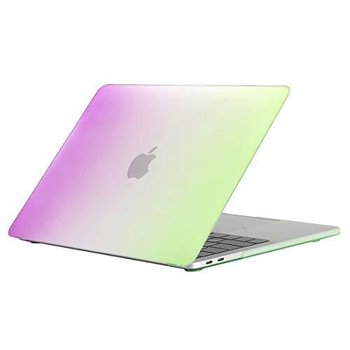 Lasvos Hoes Compatibel met MacBook Air (A1932) kleurpatroon Hoes Toetsenbord Cover Ultradunne harde schaal Cover Beschermhoes Compatibel met MacBook Air 13 inch