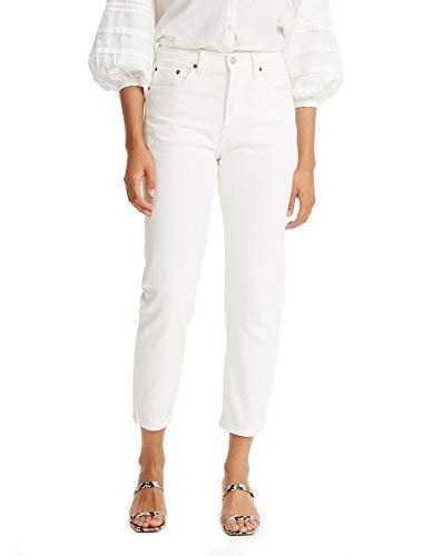 Levi's 501 Crop Jeans, Nubes-Blanco, 40 ES para Mujer