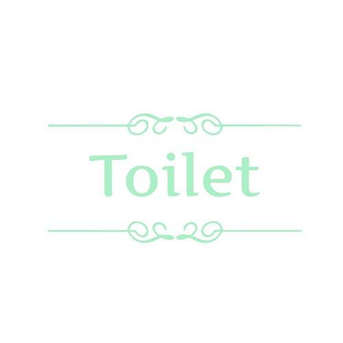 Oce180anYLV Lustiges Karikatur-leuchtendes Badezimmer-Toiletten-Aufkleber-DIY Hauptdekor-Wand-Dekoration 4