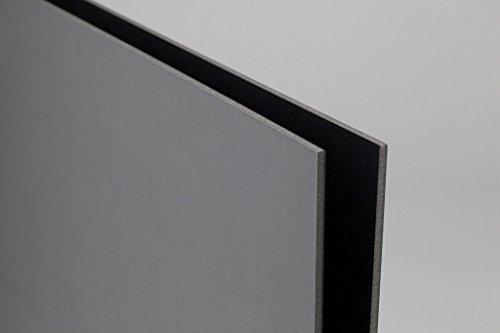 foamboard/poliplat Negro/Gris 50x 70Grosor 5mm Caja DE 25Hojas