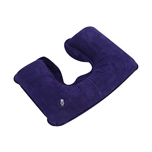 Demeras Almohada inflable del resto de la cabeza almohada para el descanso al aire libre almohada de camping lavable