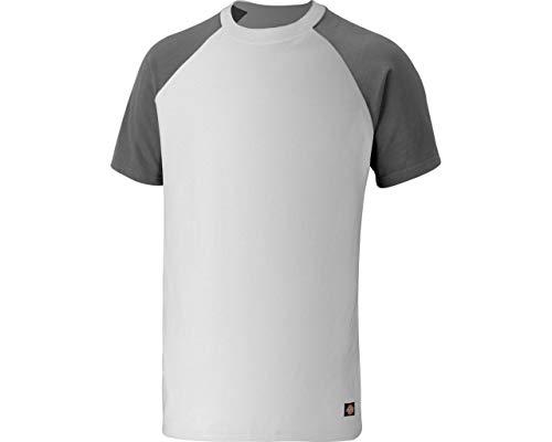 Dickies T-Shirt, Größe:XL, Farbe:Weiss/grau
