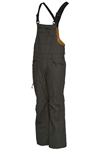 Special Blend Relic Bib | Women's Snowboard/Ski Pants (Cypress, Medium)
