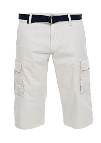 s.Oliver RED Label Herren Loose Fit: Cargo-Bermuda Off-White 36