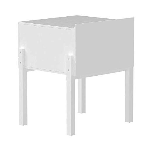 WLJBD Couchtisch, Tische quadratische Nachttisch, Schlafzimmertisch, kleines Schrank mit Schubladen, Leichter Lagerregal, weiß, Blauer Couchtisch Farbe: Indigo, Größe: 17.7115.7421.25in