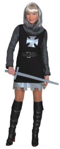 Damen Kostüm Ritter Dame als Burgfräulein zu Karneval Fasching Gr.44