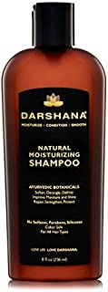 Sponsored Ad - Darshana Natural Moisturizing Shampoo with Ayurvedic Botanicals - Color Safe, No Sulfates, Silicones, Parab...