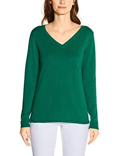 Cecil Damen 301227 Pullover, Lucky Clover Green, XXL