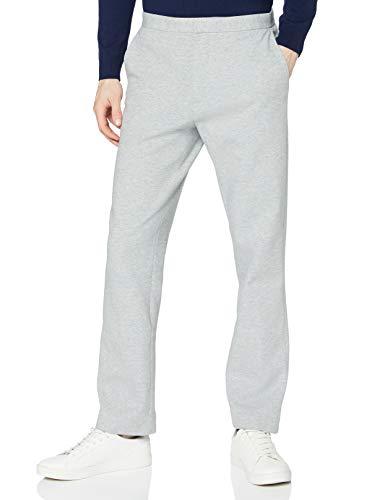 Amazon-Marke: find. Herren Hose Smart Jersey, Grau (Light Grey), 31W / 30L, Label: 31W / 30L