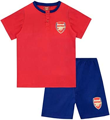Arsenal FC Pijamas de Manga Corta para niños Football Club