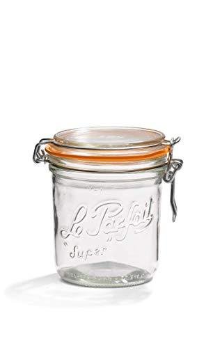 Le Parfait 1978004 - Juego de 6 tarros (750 ml, 10 cm de diámetro)