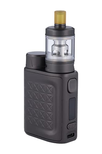 Eleaf iStick Pico 2 E Zigarette mit GZeno S Verdampfer | 4ml Tankvolumen | bis 75 Watt | Farbe: gunmetal