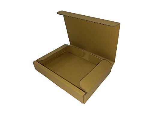 ダンボール箱ゆうパケット・クリックポスト用A6・ハガキサイズ(段ボール箱)200枚(外寸:160×123×29mm)(3ミリ厚)