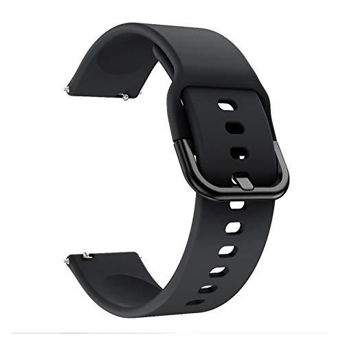 okkpbg Correa de Hombre Silicone Original Sport Watch Band for Galaxy Watch Strap Smart Watch Correa for Samsung Galaxy Reloj Reemplazo Nueva Correa 20mm Casual y Hermosa