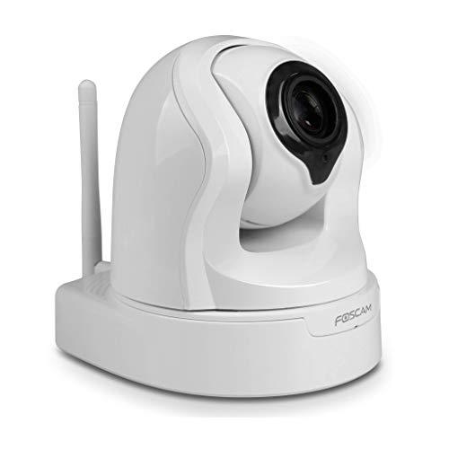 Foscam 9926PW Fi9926P - Telecamera IP WLAN, 2 MP, FULL HD, con zoom e LED a infrarossi, PTZ 6 W, 5 V, Bianco