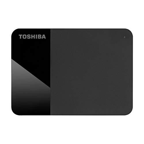 Toshiba Canvio Ready 1TB Portable External HDD, USB3.0 for PC Laptop Windows and Mac. 3 Years Warranty. External Hard Drive - Black