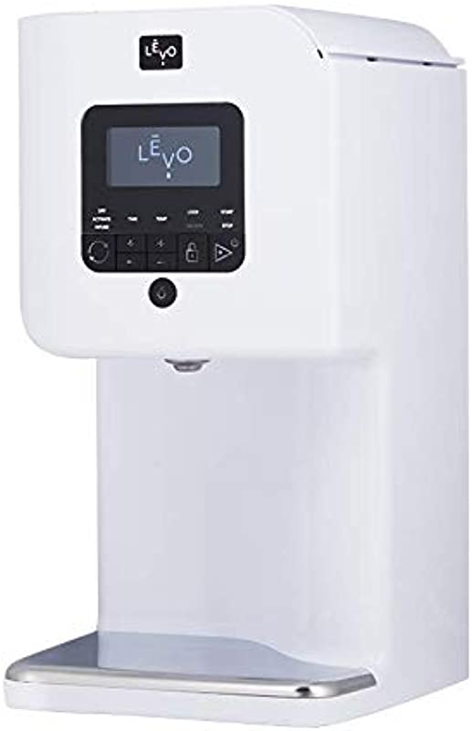 LEVO II Herbal Oil And Butter Infusion Machine Botanical Activator Herb Dryer And Oil Infuser Mess Free And Easy To Use WiFi Enabled Via Programmable App Alpine White