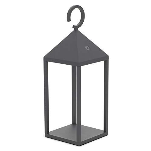 Dopo Lighting - ERICE Anthrazit tragbare Lampe für den Innenbereich IP54