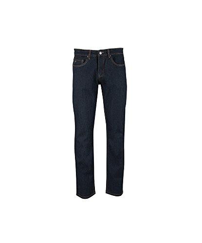 Alexandra STC-NM255IB-30S Heren Jeans, Plain, Kort, 75% Katoen/24% Polyester/1% Elastin, Maat: 30, Indigo