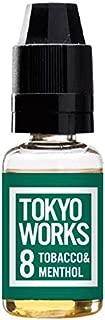 低ワット専用リキッド TOKYOWORKS 8 CIGAR&MENTHOL(シガー&メンソール)/15ml