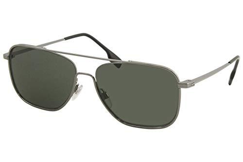 BURBERRY Gafas de sol BE3112 100371 gafas de sol Hombre color Verde Gunmetal tamaño de la lente 59 mm
