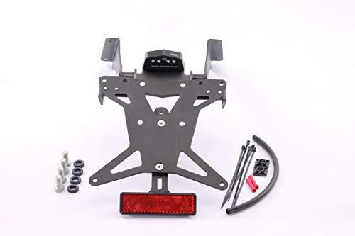 MG Biketec Kurzes Heck - Kennzeichenträger - Kennzeichenhalter geeignet für Honda CB 650R / CBR 650R ab 2019 (157x157mm)