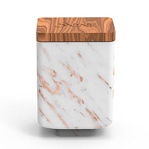 SNINE NMN Capsule 25000 with Apple AIRTAG Box (Rose Gold Marble)