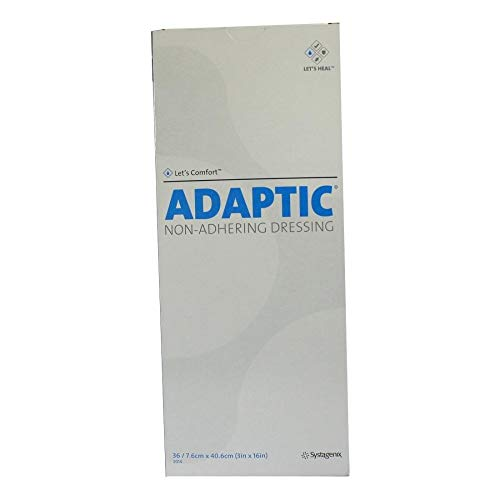 Adaptic 7,6x40,6 cm Feuchte Wundauflage 2014, 36 St
