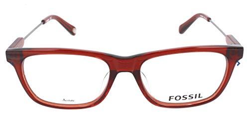Fossil Brillengestelle FOS 6082/F Rechteckig Brillengestelle 53, Rot