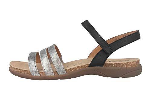 Josef Seibel Riley 01 Sandalen in Übergrößen Mehrfarbig 69701 33 771 große Damenschuhe, Größe:44