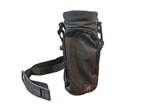 F8 Hands Free Water Bottle Carrier Holder, Great for Water Bottle Insulation, Holds Water Bottles Up to 30 OZ, Comfortable Adjustable Shoulder Strap