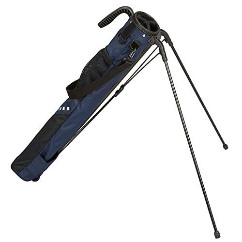 つるやゴルフ ONESIDER(ワンサイダー) セルフ スタンドクラブケース 約6〜8本収納可 [ネイビー] 軽量 コンパクト収納 OSCC-20393LP