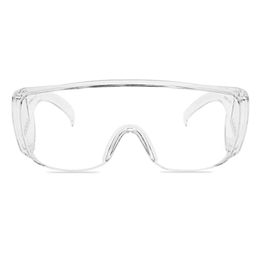 Veiligheidsbril, spatwaterdicht, over de bril draagbaar, schokbestendig, zanddicht, stofdicht, waterdicht, schokbestendig, professionele bril beschermt je ogen.