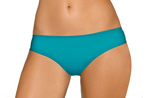LORIN Damen Bikini Schwimmhosen Tankini Unterteile Trennt Sich, L8006, V7, Hellblau, EU 40