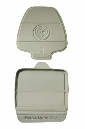 Prince Lionheart Car Seat Protector. The only 2 stage Seatsaver Designed with Thick padding, Nonabsorbent, waterproof, PVC foam material. Comparable with all baby and toddler car seats. (Beige)