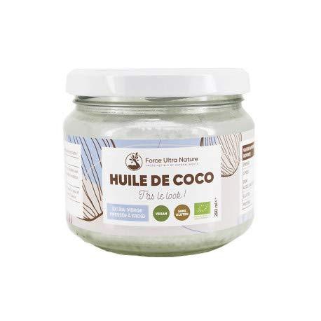 Huile de Noix Coco vierge certifié BIO & non raffinée - 250ml