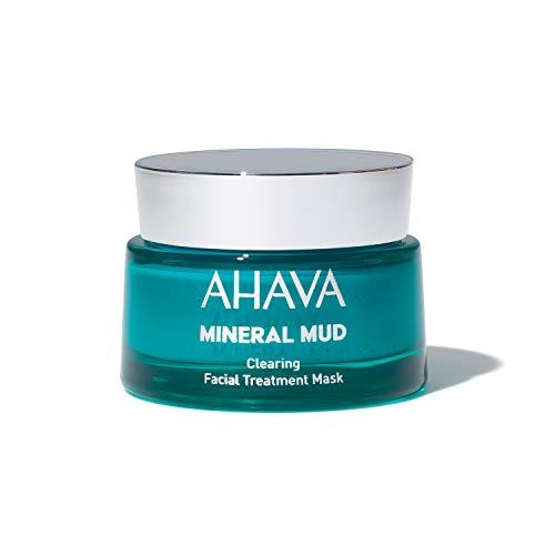 AHAVA Dead Sea Mineral Mud Clearing Facial Treatment Mask, 1.7 fl oz/50ml