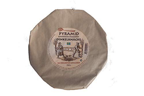 PYRAMID schwedisches Dinkel-Knäckebrot, im Holzofen gebacken, 550 g
