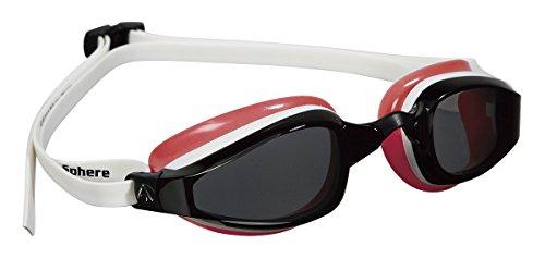 MP™ (Michael Phelps) Aqua Sphere K 180 Lady Schwimmbrille transparente Scheibe Einheitsgröße rot - Weiß/Rot
