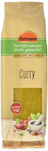 Ostmann Curry 5 x 80 g Currypulver indische Gewürz-Mischung, Curry-Gewürz, für leckeres indisches oder asiatisches Curry, Nudeln, Reis & Wok-Gemüse, Menge: 5 Stück