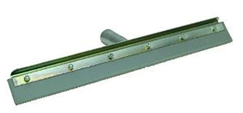 Qlt By Marshalltown Concrete Notched Squeegee 24' Straight With Frame 1/4' Notch