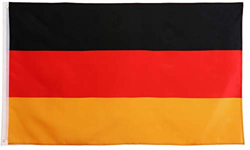 Star Cluster 90 x 150 cm Deutschland Flagge/Deutsche Fahne/Bundesflagge/Germany National Flag (DE Gold 90 x 150 cm)