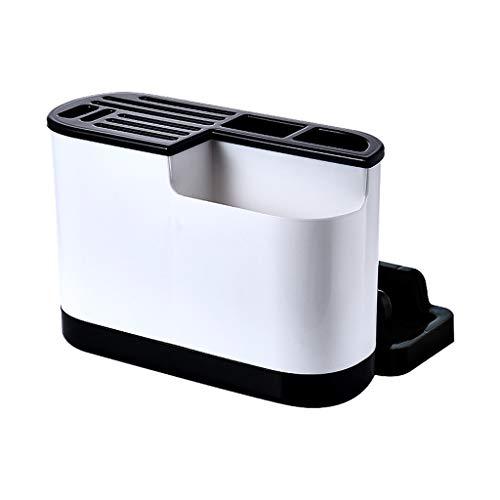 ZJL220 Soporte para utensilios de cocina de plástico, tabla de cortar