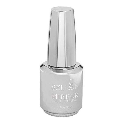 Vernis à ongles métallique effet miroir magique vernis à ongles chromé(Metallic Nail Polish Magic Mirror Effect Chrome Nail Art Polish Varnish)