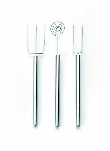 IBILI Schokoladenzubehör-Set 3-teilig aus Edelstahl, Silber, 20 x 10 x 5 cm, 3-Einheiten