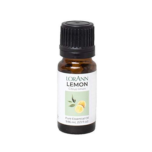 LorAnn Lemon Oil (100% Pure Food Grade Essential Oil) 1/3 ounce Dropper Bottle