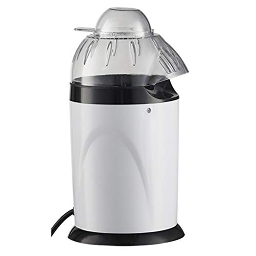 Great Deal! IKevan Hot Air Popcorn Poppers Machine with Measuring Cup and Removable Lid, 900W Automa...